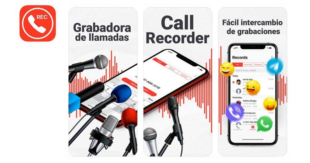app grabadora de llamadas para iphone