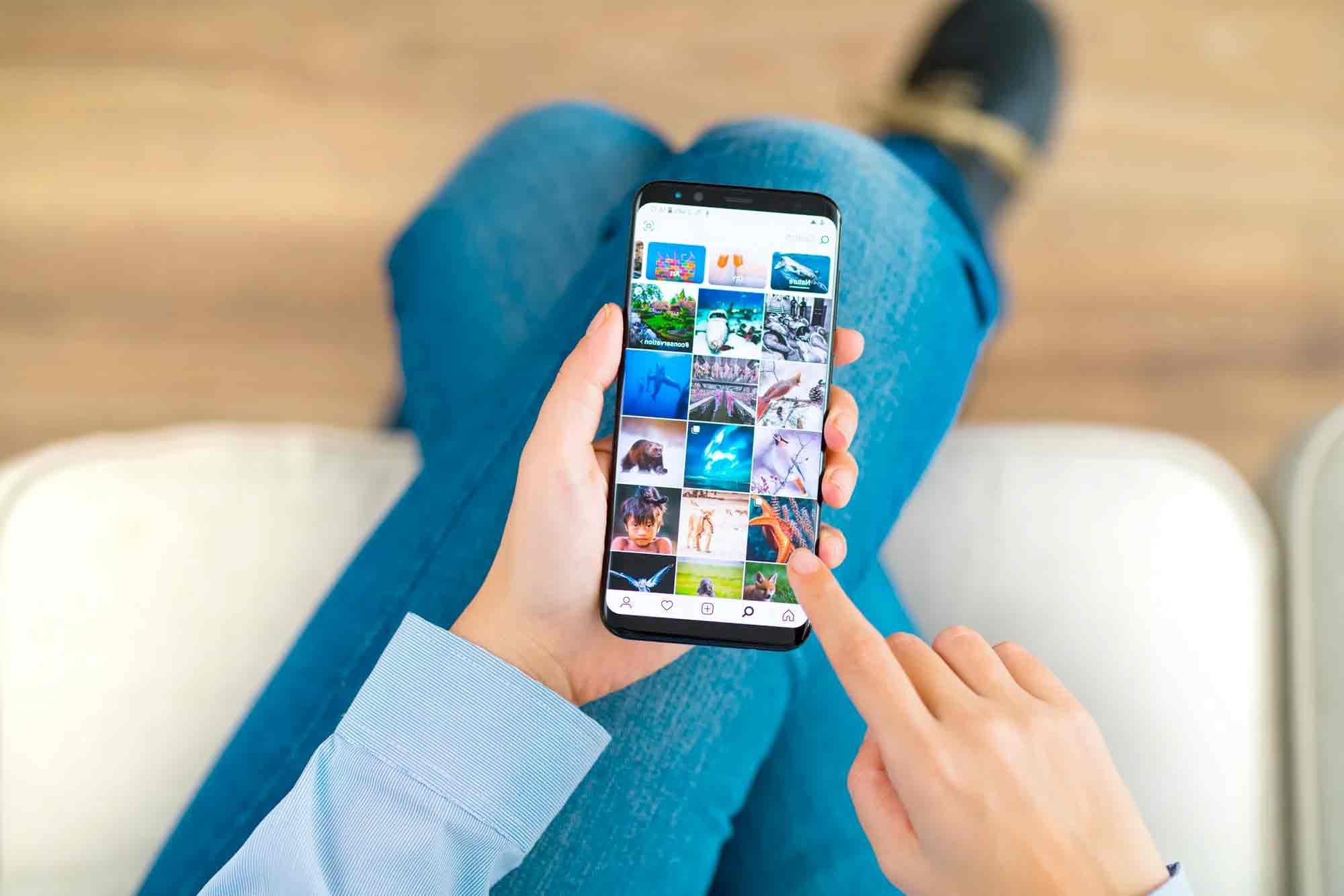 que app usar para programar fotos en instagram