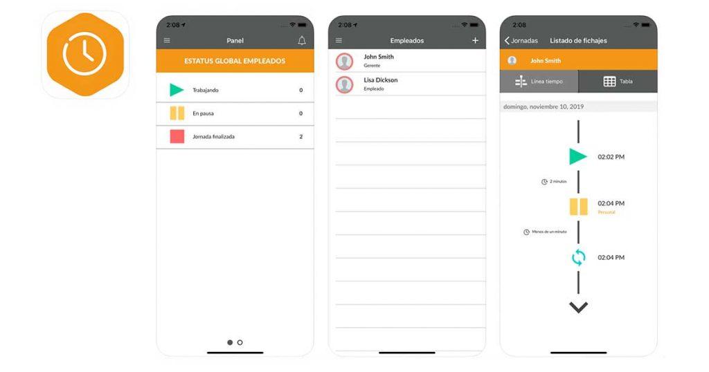mejor app para fichar en el trabajo
