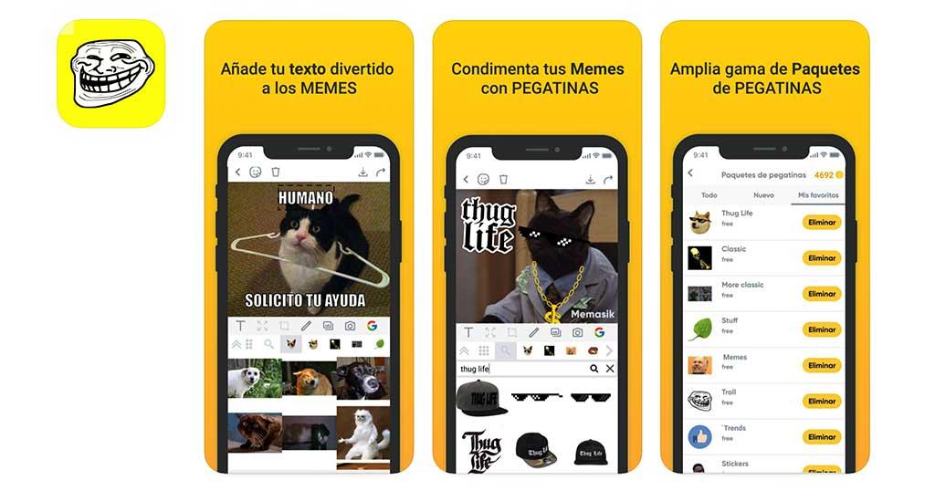 crear meme texto