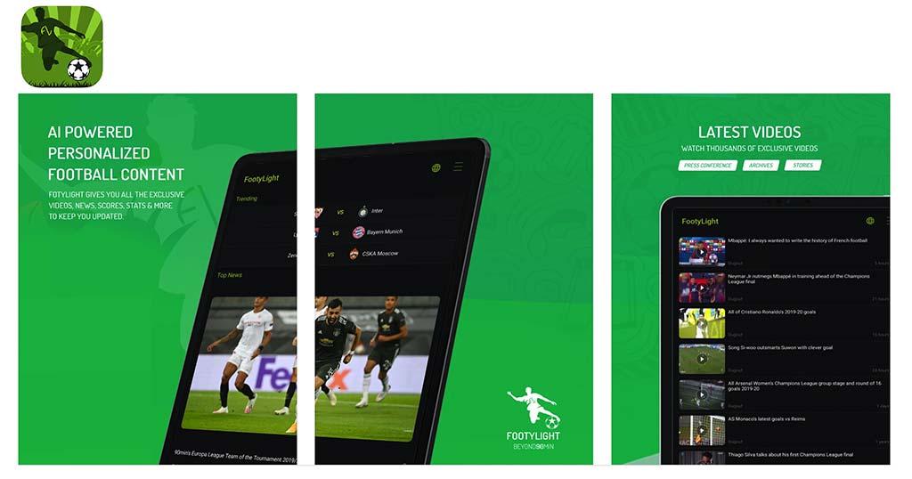aplicacion footylight para futbol gratis