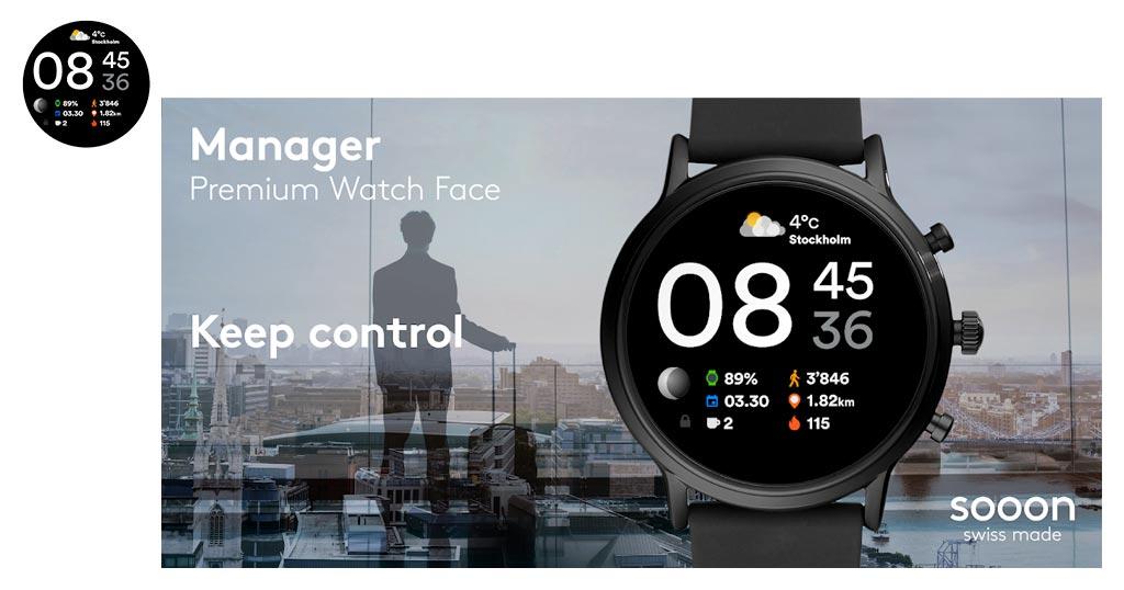 mejor aplicacion manager watch face para smartwatch chino